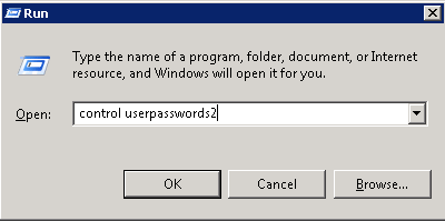 control userpasswords2